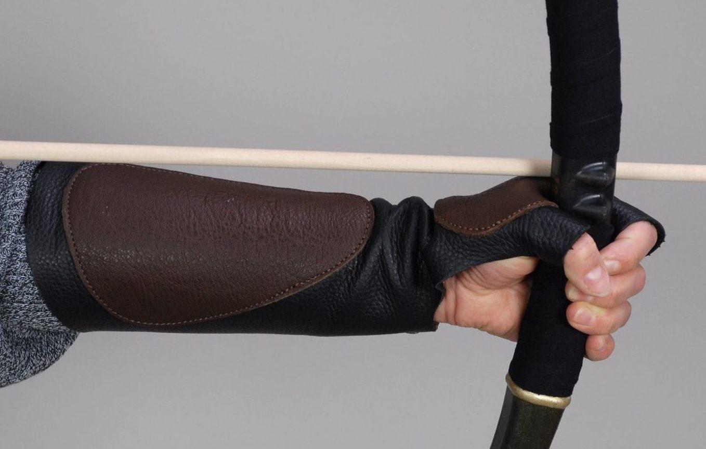 Armschutz schwarz
