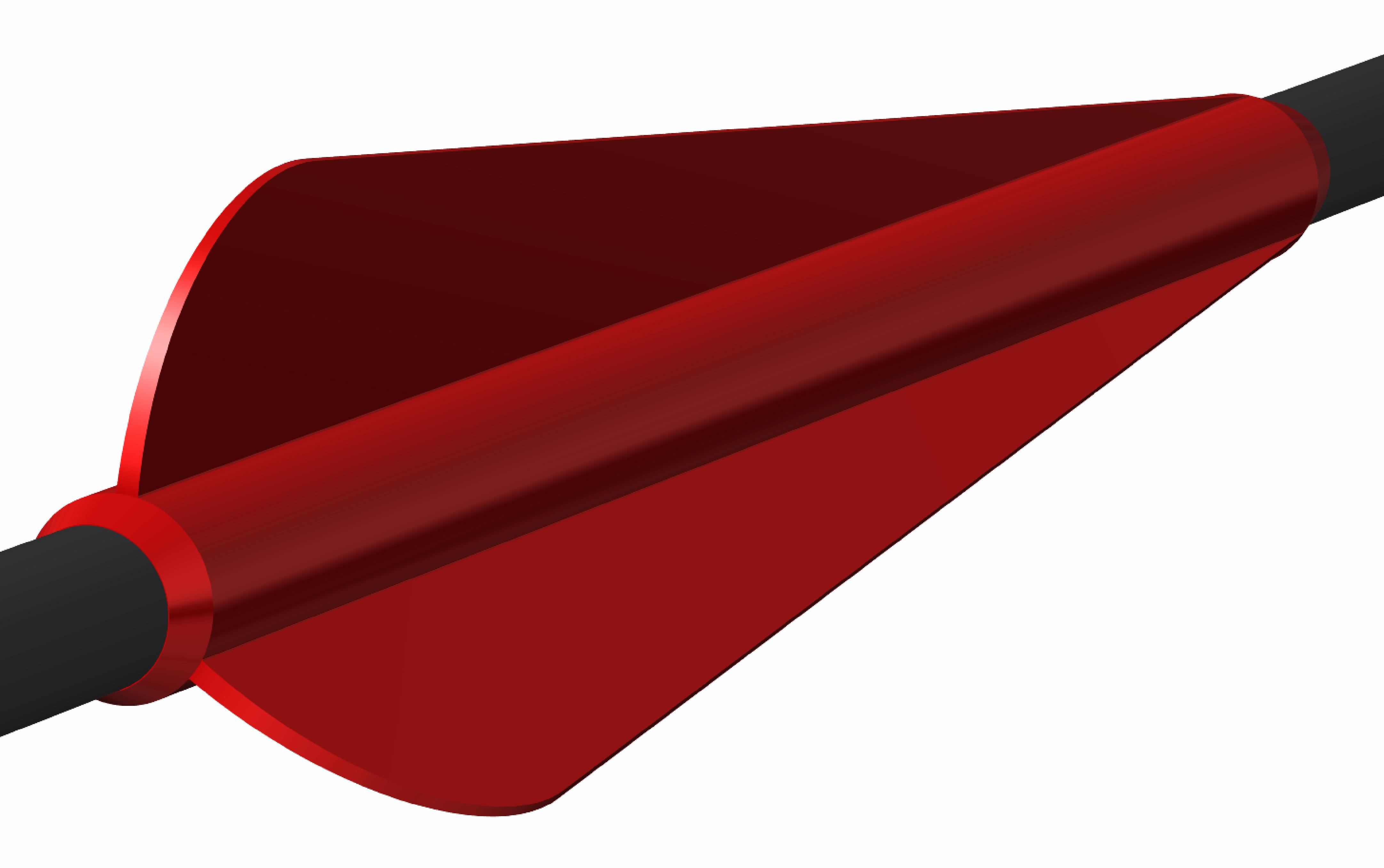Dertail Befiederung rot
