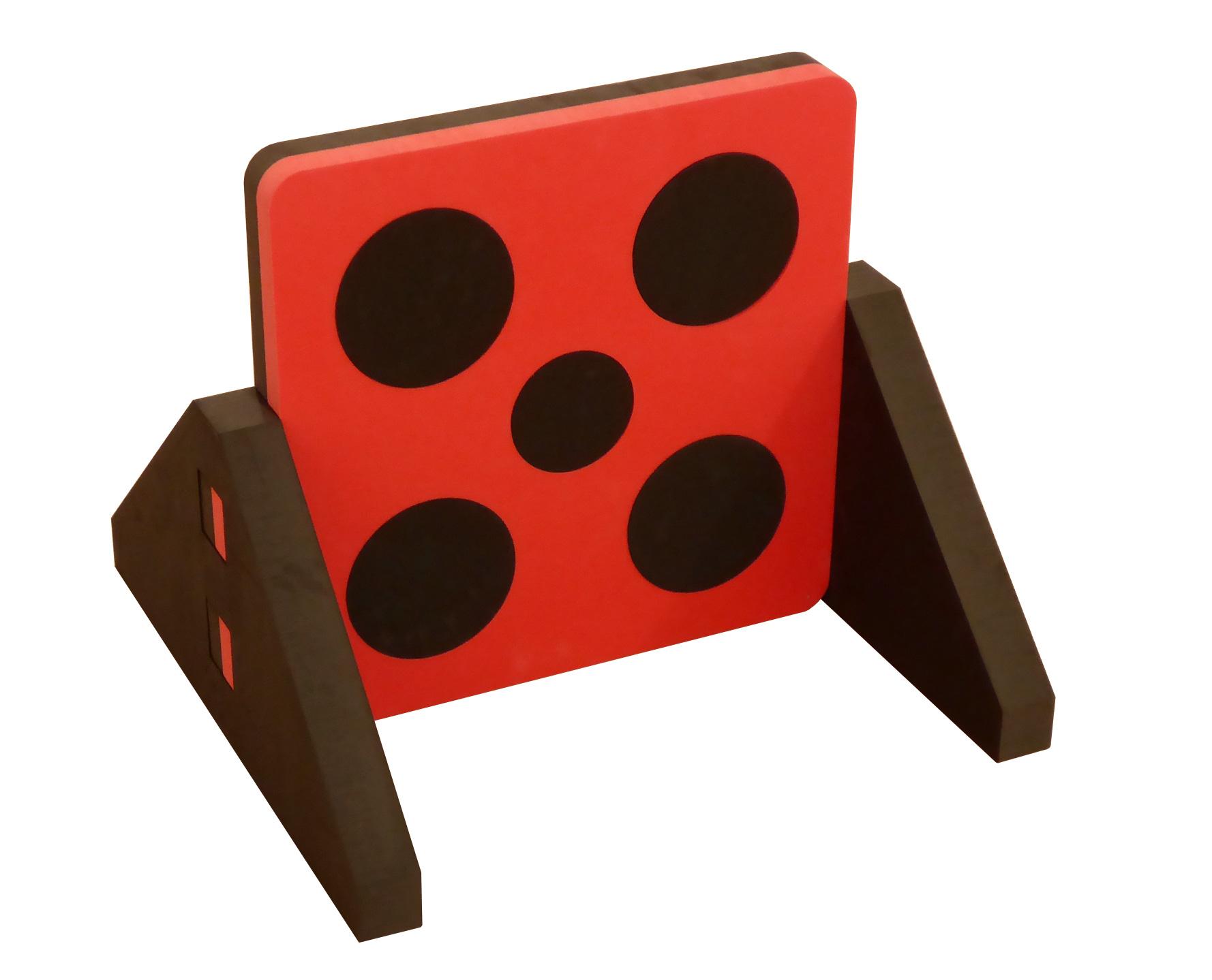 Target rot-schwarz