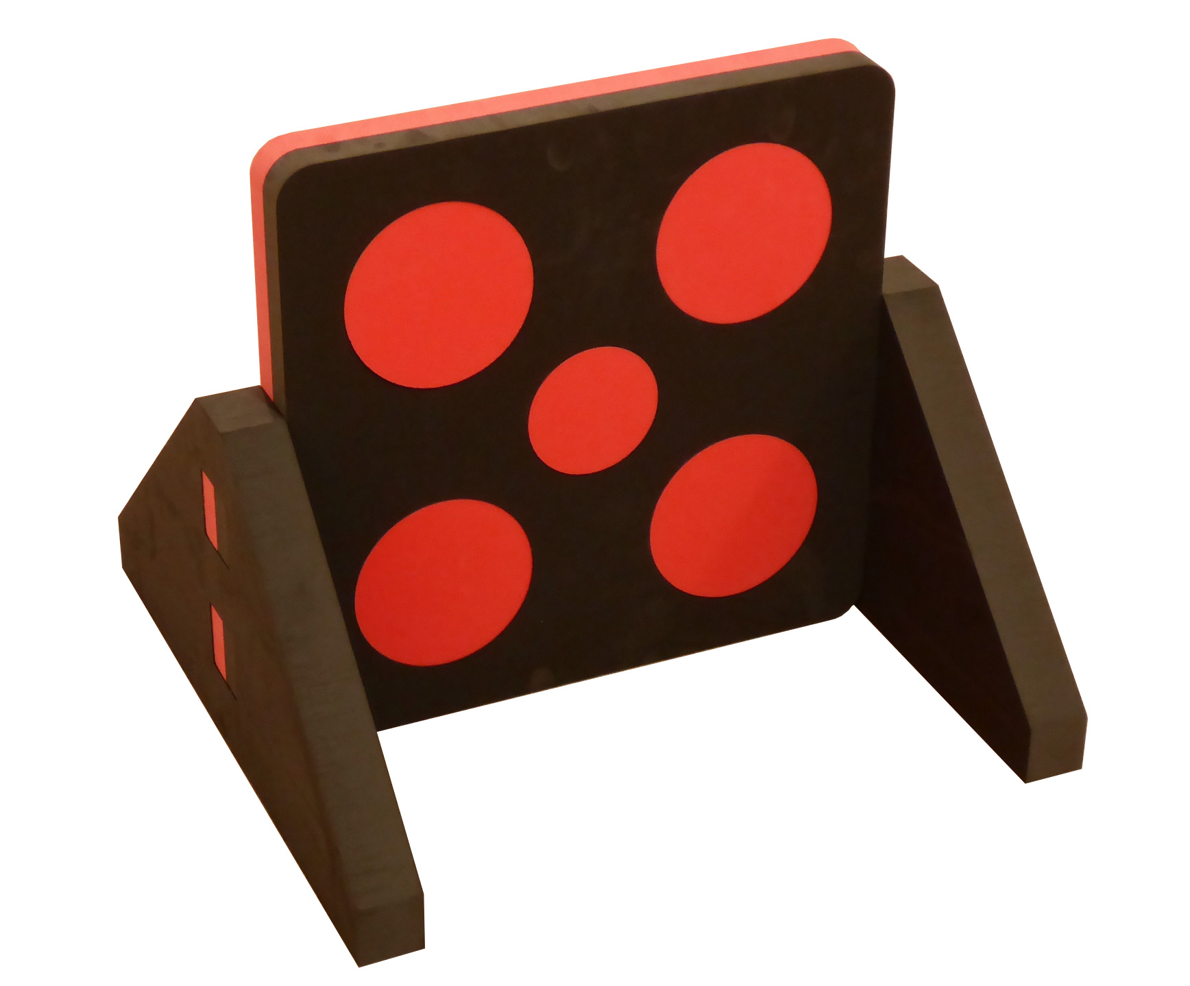 Target schwarz-rot